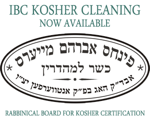 IBC Kosher Cleaning