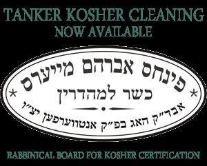 Tanker Kosher Cleaning